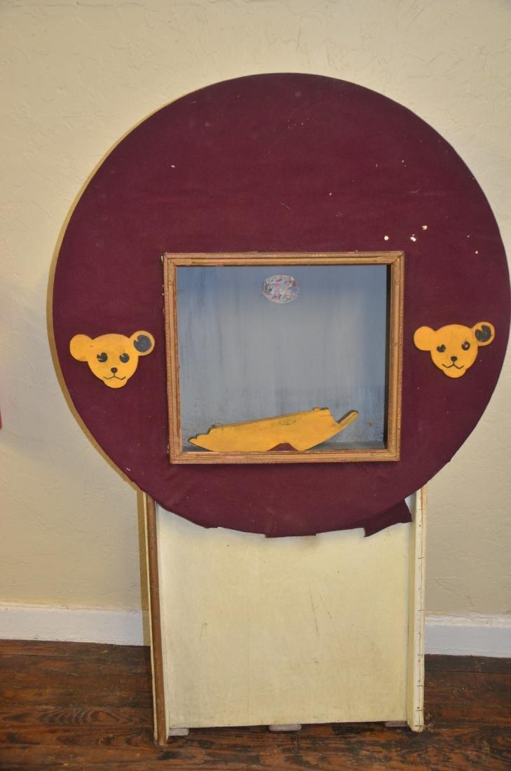 Vintage Steiff Bear display