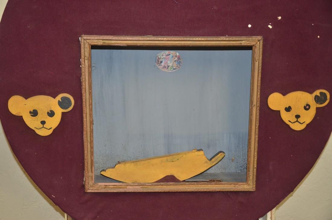 Vintage Steiff Bear display - 2