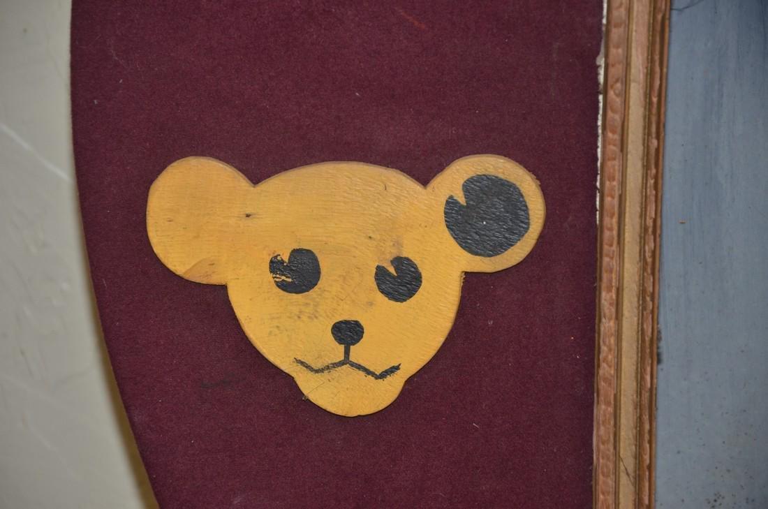 Vintage Steiff Bear display - 4