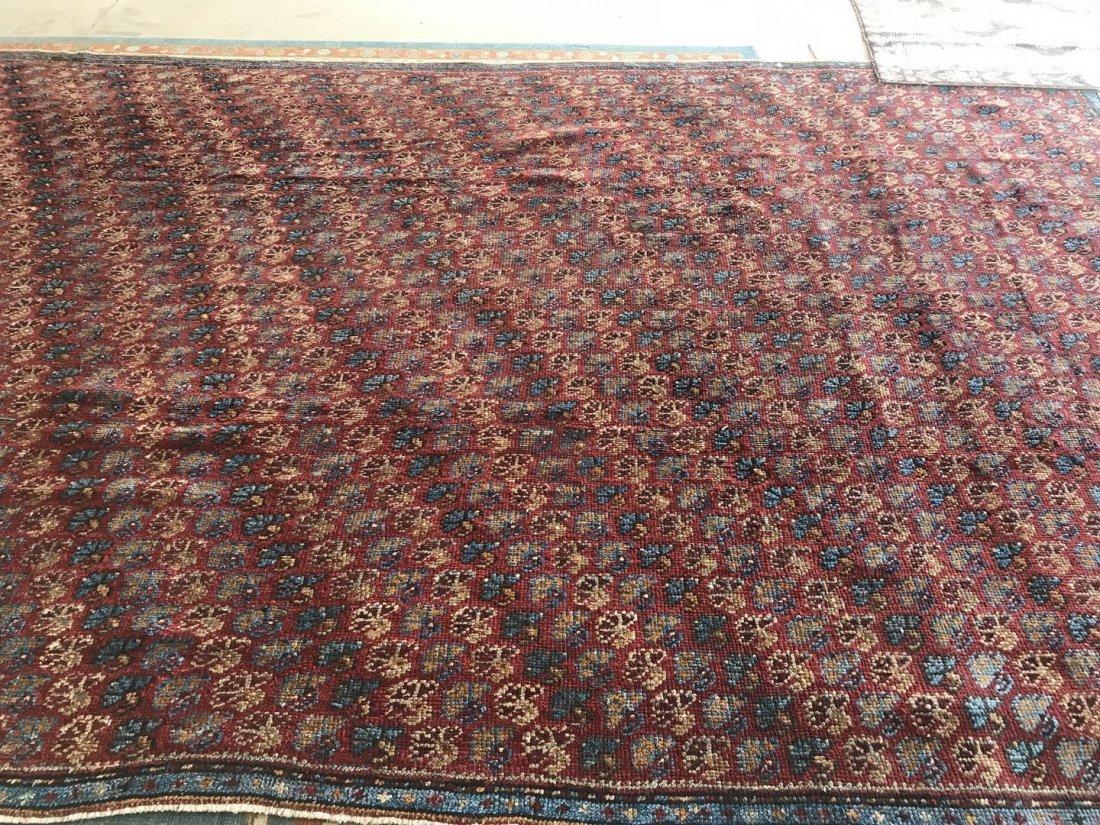 Old Turkish Antique Oushak Rug Carpet - 2