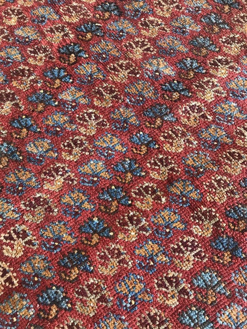 Old Turkish Antique Oushak Rug Carpet - 4