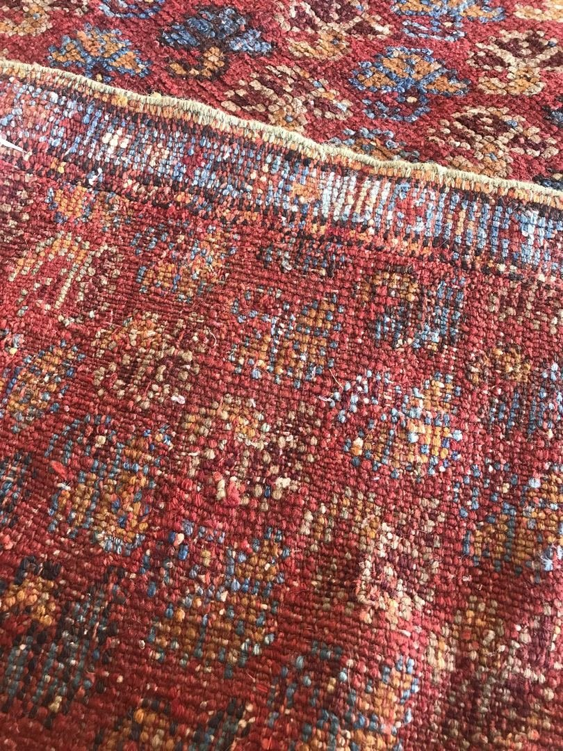 Old Turkish Antique Oushak Rug Carpet - 5