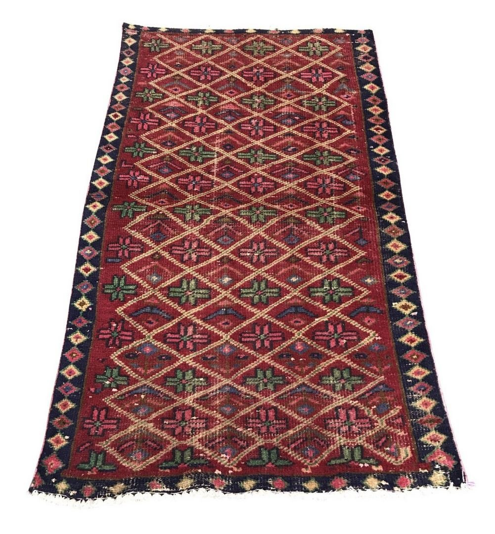 "Persian Wool Rug Carpet 2'7"" x 4'7"""