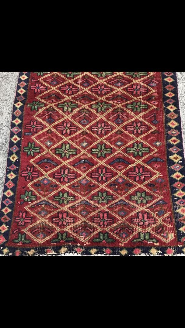 "Persian Wool Rug Carpet 2'7"" x 4'7"" - 2"