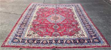 Vintage Large Persian  Rug 9'6 x 12'5