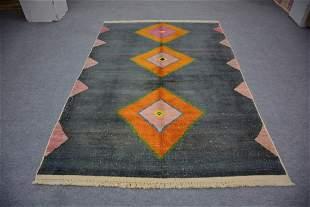 "Moroccan Style Turkish Wool Rug 5'6"" x 8'2"""