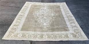 "Vintage Large Persian Rug 9' x 11'7"""