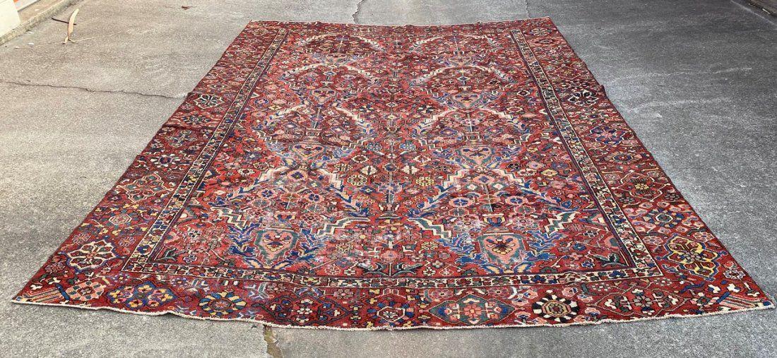 """Semi Old Persian Large Rug 9'10"""" x 14'6"""""""