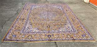 """An Old Large Persian Unique Color Rug 9'5"""" x 13'2"""""""