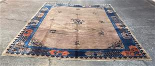 """An Old Chinese Large Rug 10'2"""" x 13'6"""""""