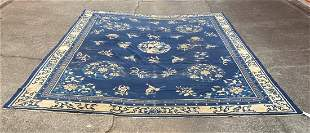 """An Old Chinese Large Rug 10'4"""" x 12'8"""""""