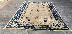 """An Old Chinese Large Rug 9'2"""" x 12'4"""""""