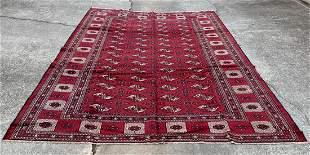"""Afghani Bukhara Large Size Rug 8'3"""" x 12'1"""""""