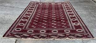 """Afghani Bukhara Large Size Rug 9'3"""" x 13'3"""""""