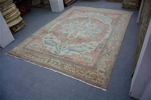 "Great Quality Turkish Oushak Wool Rug 10'2"" x 14'1"""