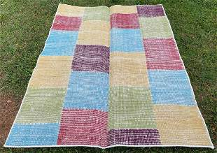"""Persian patch work Rug 4'7"""" x 6'4"""""""
