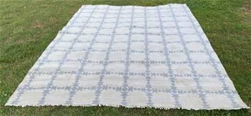 "Large Persian Wool Rug 9'1"" x 12'"