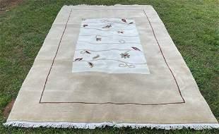 "Karache Persian Wool Cotton Rug 6'7"" x 10''"