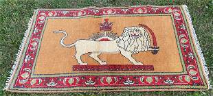 Lion Figure Rug 3' x 5'