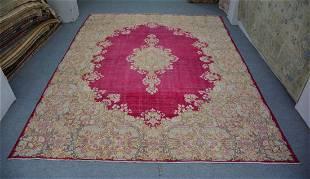 """Persian Large Nain Wool and Cotton Rug 10'5"""" x 13'8"""""""