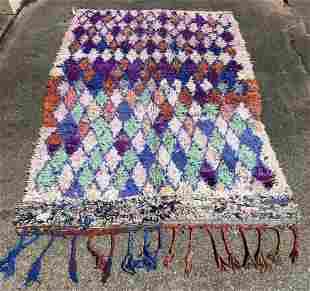 "Vintage Moroccan Tulu Wool Rug 5' x 7'11"""