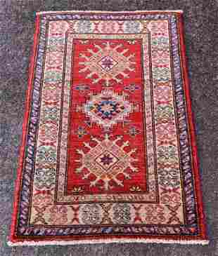 An Afghani Shirvan Wool Yastik Rug 2'1 x 3'