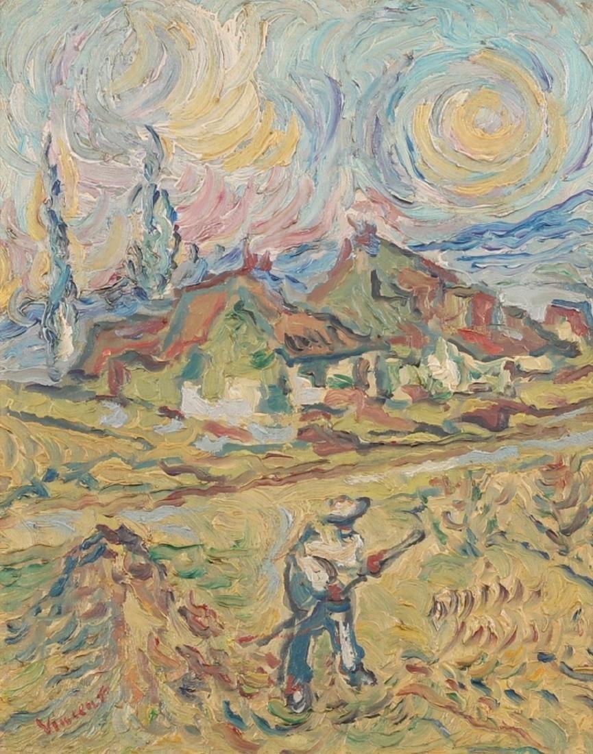 Attr Vincent Van Gogh Dutch (1853-1890) OOC - 2