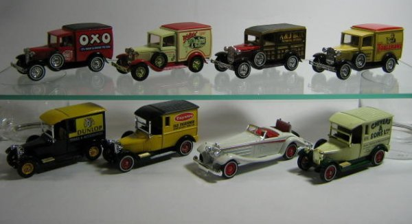 1201: MATCHBOX MODELS OF YESTERYEAR (8 PCS)