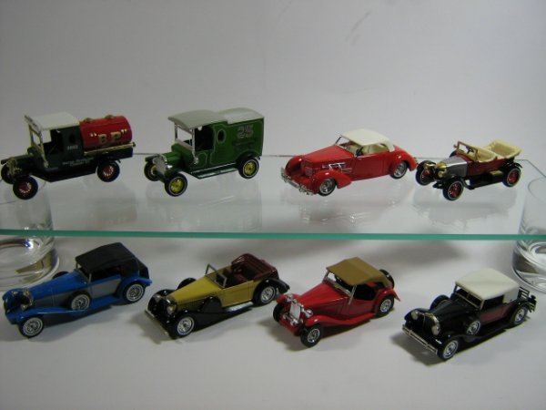1202: MATCHBOX MODELS OF YESTERYEAR (8 PCS)