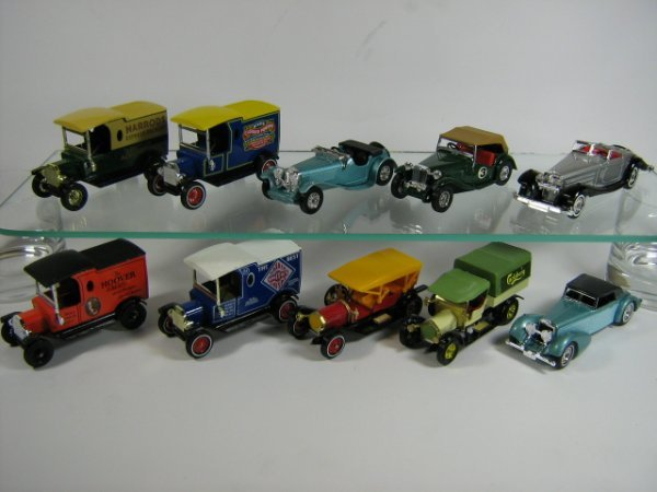 1204: MATCHBOX MODELS OF YESTERYEAR (10 PCS)