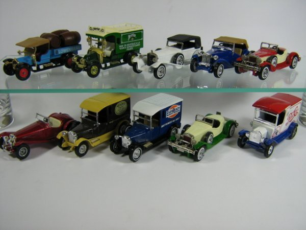 1205: MATCHBOX MODELS OF YESTERYEAR (10 PCS)