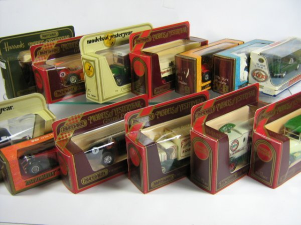1208: MATCHBOX MODELS OF YESTERYEAR (13 PCS)