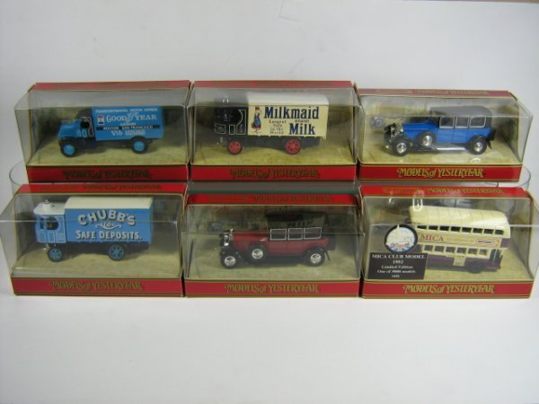 1209: MATCHBOX MODELS OF YESTERYEAR (6 PCS)