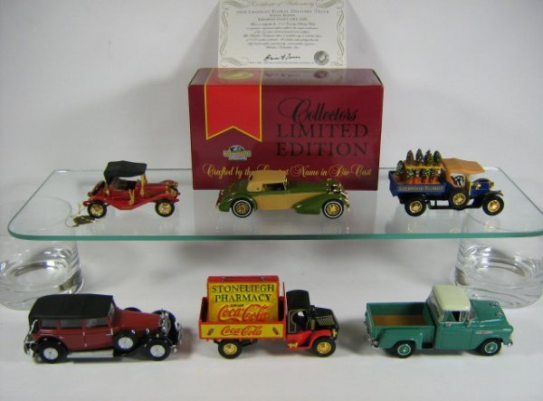 1216: MATCHBOX MODELS OF YESTERYEAR (6 PCS)