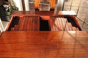 1043: SAGINAW FURNITURE TELESCOPIC TABLE - 5