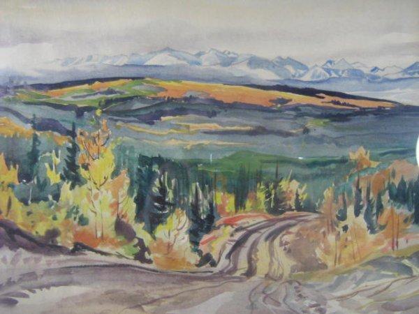 9: Janet Middleton  Canadian Art  Rockies  Alberta