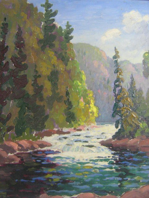 22: Hector Chapman  Canadian Art  Painting  Ontario
