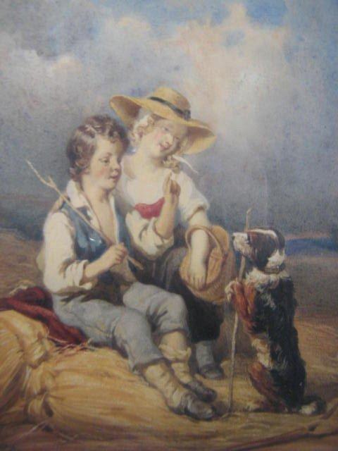114: Richard Parkes Bonington  British Art  Children  F