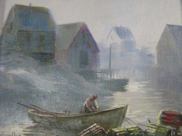 1002: W.E. De Garthe Canadian Marine Artist Peggy's Cov