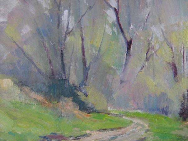 1005: Thomas Donges Toronto Park Painting