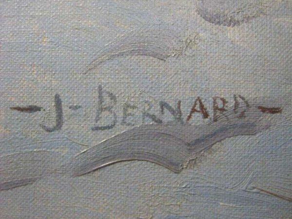 1006: Joseph Bernard Canadian Quebec Logging Painting - 3