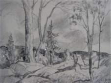 1009 Joachim Gauthier Canadian Original Sketch GO7