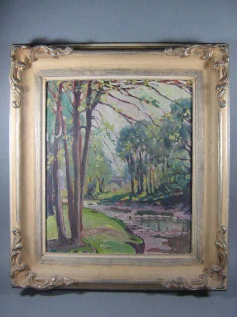 1012: E.A. Dalton Canadian Painting - 2