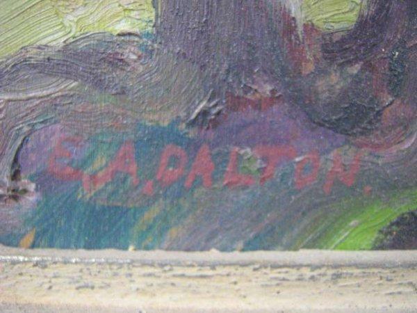1012: E.A. Dalton Canadian Painting - 3