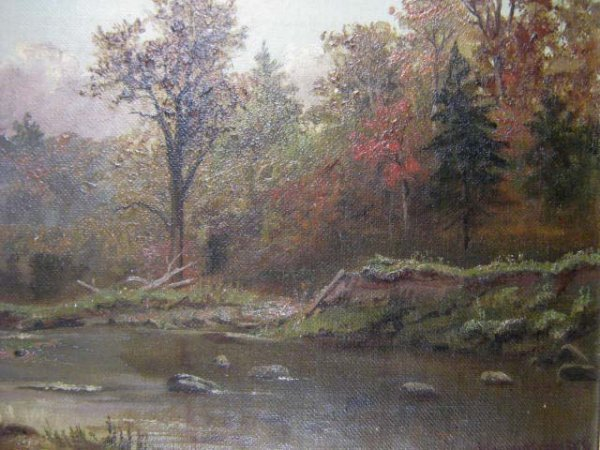 1013: T.M. Martin Canadian Historical Painting Toronto
