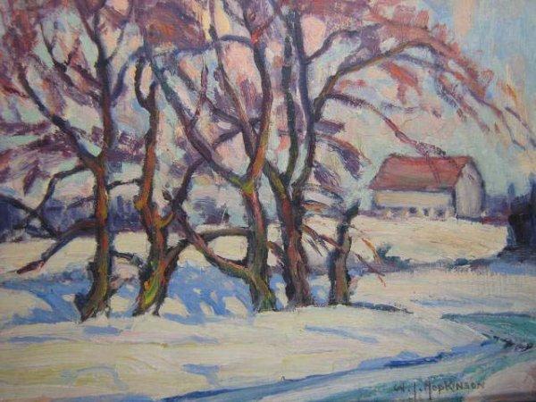 1015: W.J. Hopkinson Canadian Original Listed Artwork