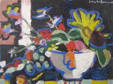 1141: Hans Hofmann Still Life Artwork