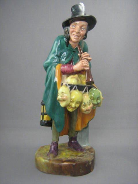 2005: Royal Doulton Figurine The Mask Seller
