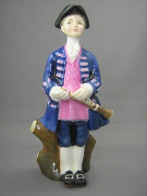 2011: Royal Doulton Figurine Boy From Williamsburg