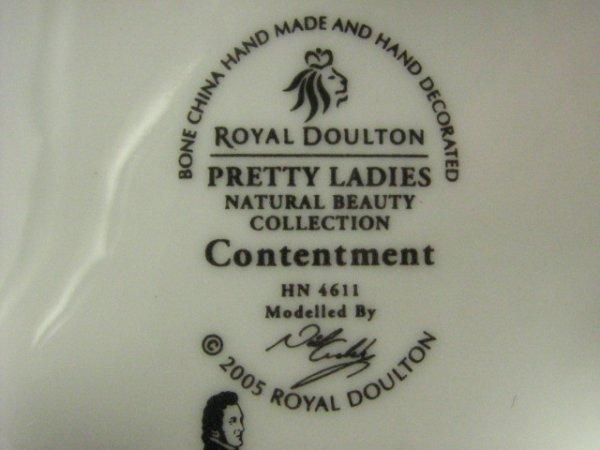 79: Royal Doulton Pretty Ladies Contentment HN4611 - 3